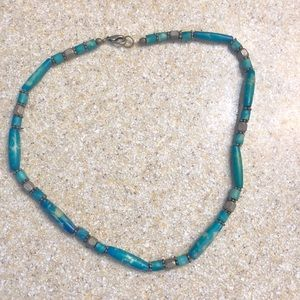Jewelry - Turquoise colored collar necklace